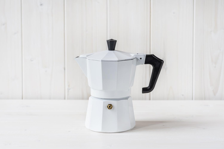 Pezzetti Moka Pot 3 Cup (white)