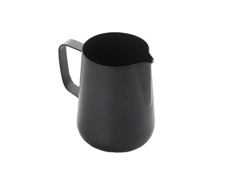 Teflon coated milk foaming jug