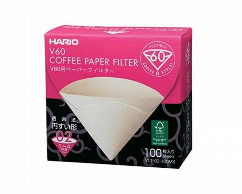 Hario V60 Filter Papers 02 Dripper Sheets x 40