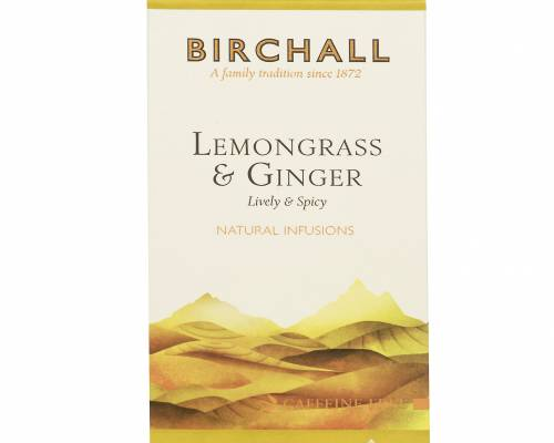 Birchall lemongrass and ginger tea bags