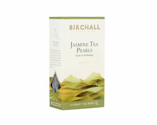 Side view of Birchall Jasmine Tea