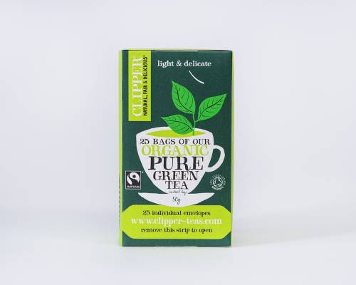 Organic Fairtrade Pure Green Tea