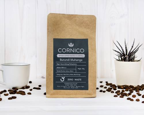 Burundi Muhanga Whole bean & Ground 250g