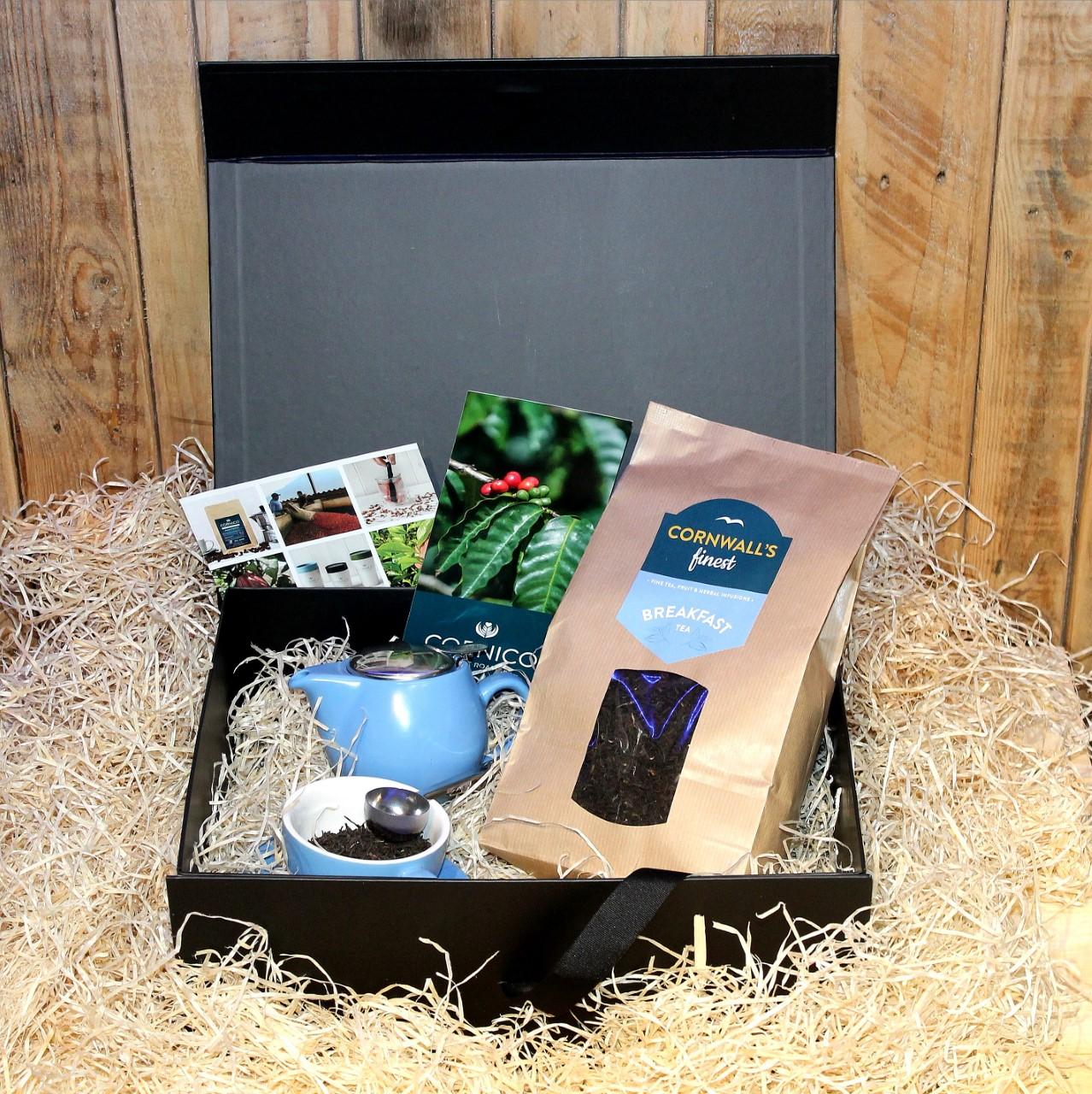 Cornwall's finest Tea Hamper (Large Tea)