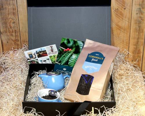 Cornwall's finest Tea Hamper (Large Tea)
