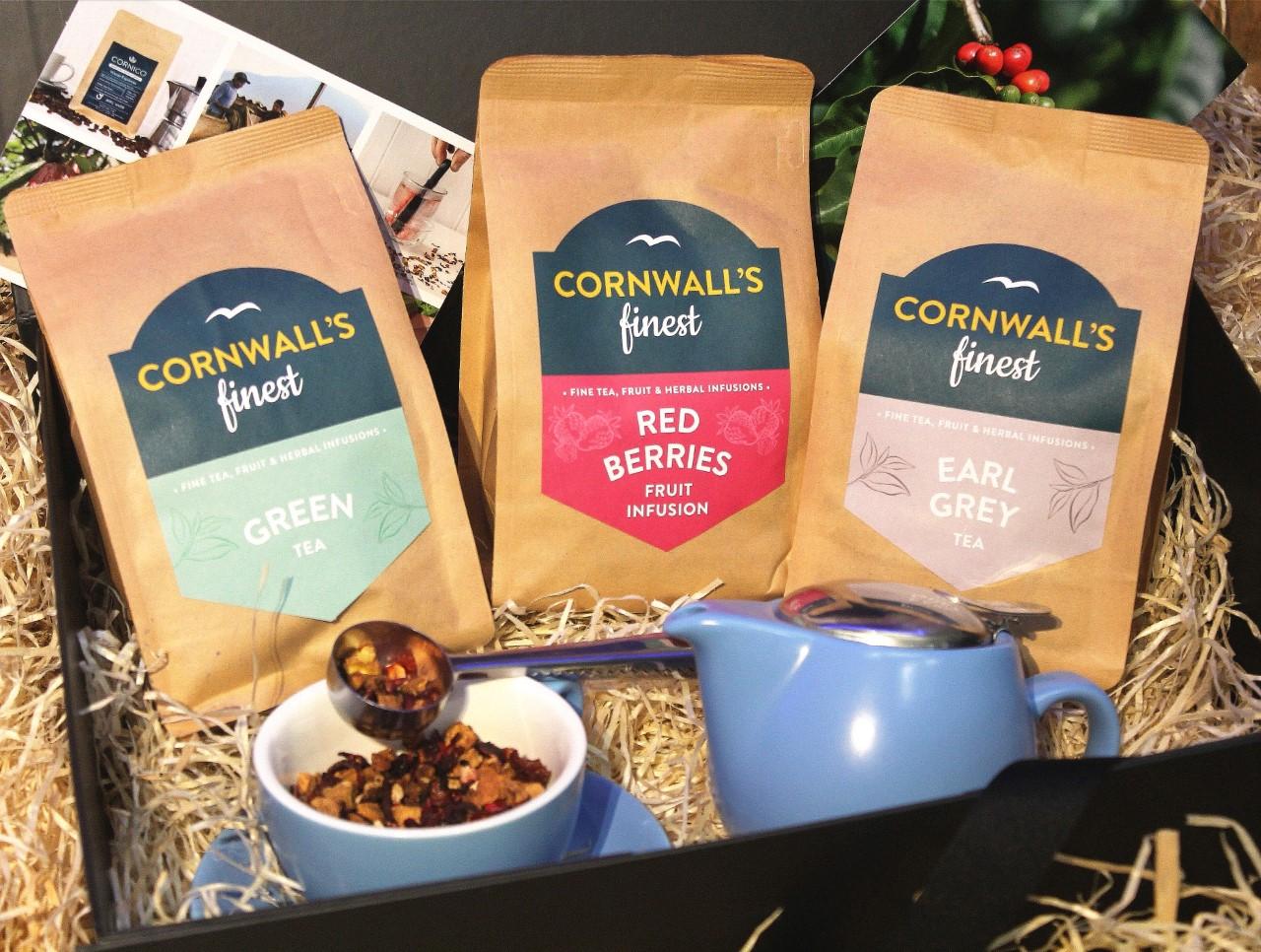 Cornwall's Finest Tea Hamper (Small Teas)