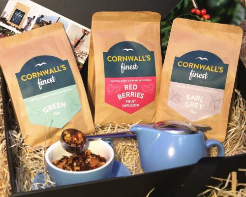 Cornwall's Finest Tea Hamper (Small Teas)  image
