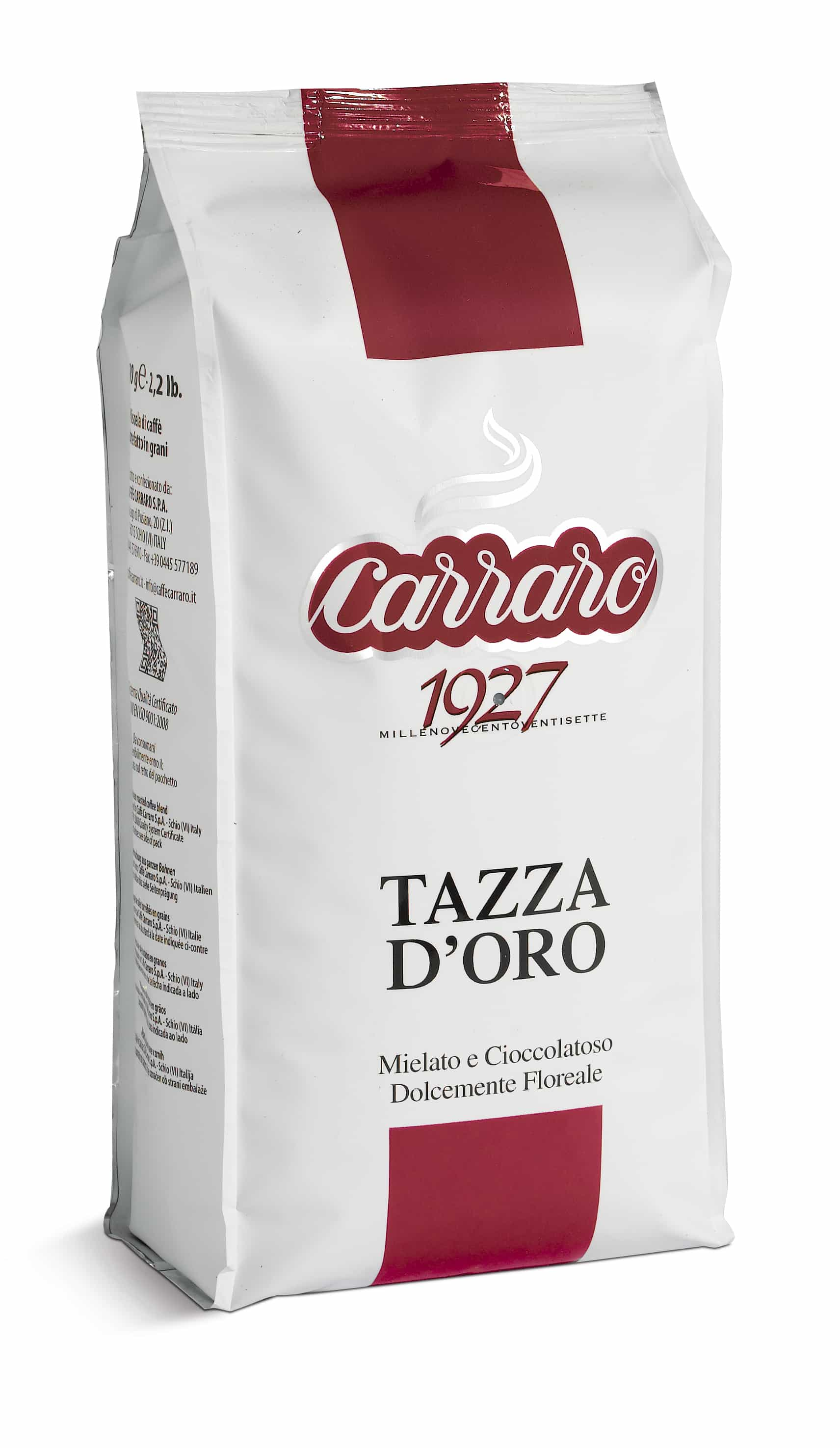 Caffe Carraro Tazza D'Oro coffee beans